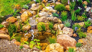 DIY Backyard Ecosystem Pond (For My Parents)