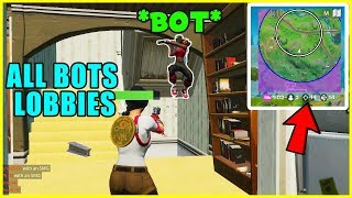 Get Into 100 BOTS Lobbies In Fortnite Chapter 2... (Fortnite Glitches) *PS4/XBOX/PC*