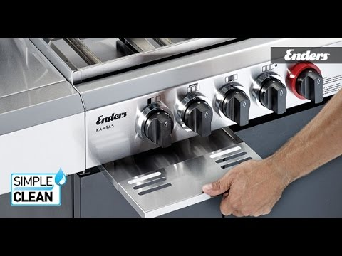 Enders Gasgrill Kansas Pro 3 Sik Turbo : Enders monroe s turbo mit simple clean günstig kaufen