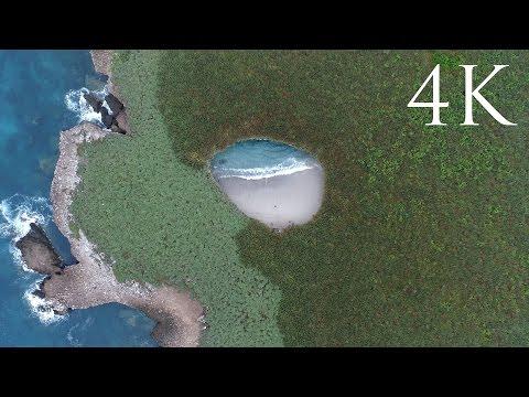 צאו לסיור בחוף החבוי בתוך מערה במקסיקו בסרטון באיכות 4K