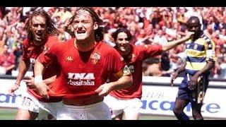 As. Roma Scudetto 2000/2001 ( 3 - 1 Vs Parma)