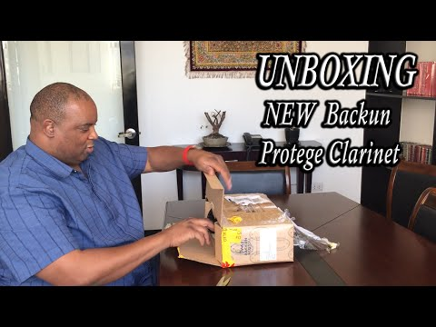 Protege Clarinet with Rose Gold keys by Backun Unboxing