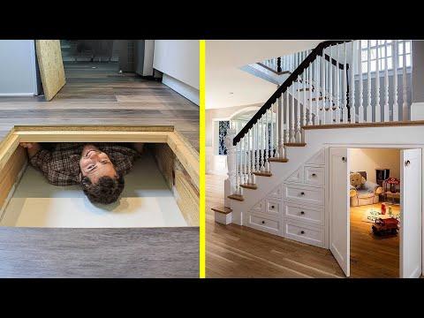 FANTASTIC HIDDEN Rooms AND INGENIOUS SECRET Furniture ▶5