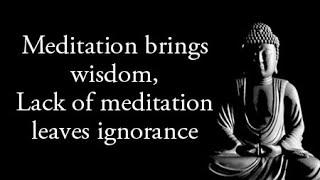 Meditation quotes - Buddha quotes on meditation