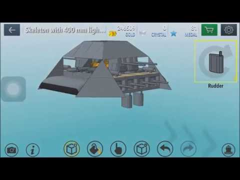 Warship Craft: How to build a Flying Ship, no floating block glitch