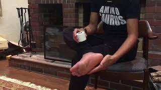 足底筋膜炎のためのテーピング