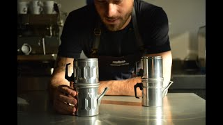 Neapolitan coffee pot | La cuccuma napoletana