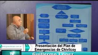 preview picture of video 'Guillermo Lopez explica el nuevo plan de emergencias de Chivilcoy'