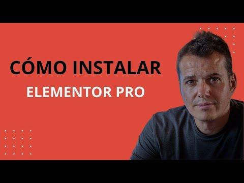 CURSO WORDPRESS GRATIS: Cómo instalar Elementor Pro + uso de plantillas prediseñadas premium
