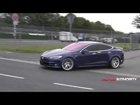 Tesla Model S Plaid spy video