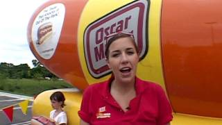 Wienermobile  Yes, we go for a ride!