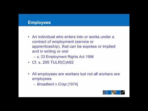 Complete Employment Law Course - YouTube