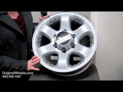 I-370 Rims & I370 Wheels - Video of Isuzu Factory, Original, OEM, stock new & used rim Co.