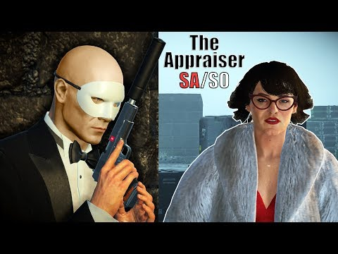 HITMAN 2 - Elusive Target #3 - The APPRAISER | Silent Assassin Suit Only Easy Classic