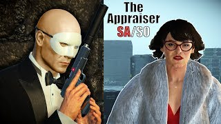 HITMAN 2 - Elusive Target #3 - The APPRAISER   Silent Assassin Suit Only Easy Classic