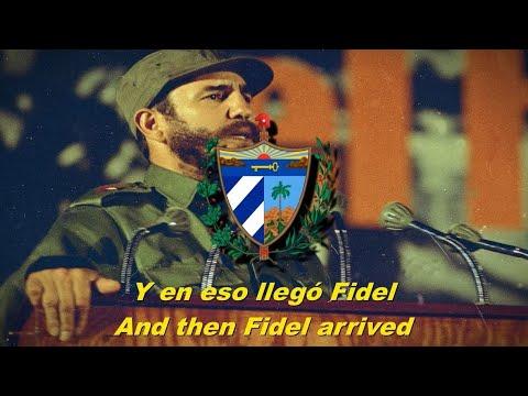 Y en eso llegó Fidel - And then Fidel arrived (Cuban communist song - English subtitles)