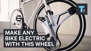 Make any bike electric with this wheel
