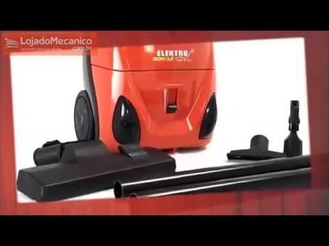 Aspirador de Pó e Água Elektro de 10 Litros 1200W  - Video