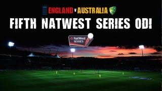 5th NatWest Series International ODI -- England innings