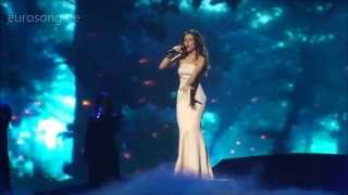 ESC2013 Ukraine first dress rehearsal - Zlata Ognevich - Gravity HQ
