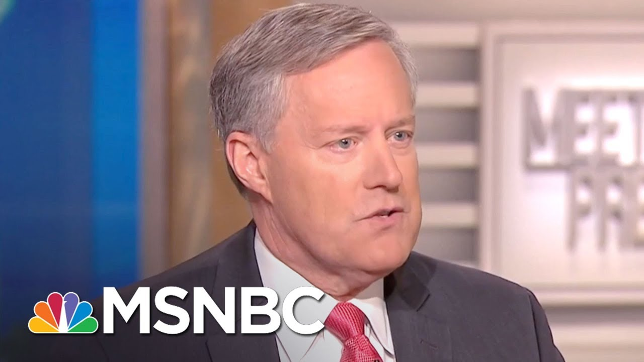 Freedom Caucus Chair Rep. Mark Meadows On DACA: Appetite To Do Something 'Big' | MTP Daily | MSNBC thumbnail