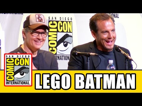 """The Lego Batman Movie"" Comic Con Panel Highlights – Will Arnett & Chris McKay"