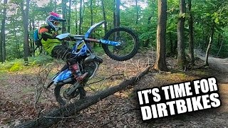 Angry Dirt Bikers - Motorcycle Road Rage | Broken Yamaha