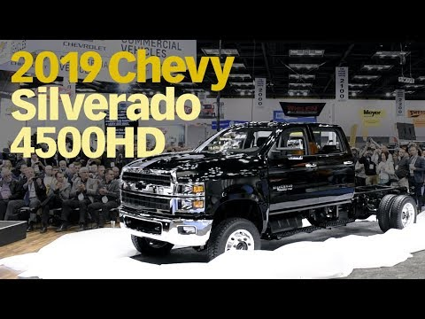 GM and its new 2019 Silverado 4500 HD, 5500 HD and 6500 HD ...