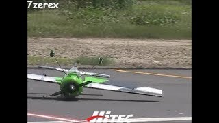 """Remote control Airplane 107""""  Stunt Flying and Fail 7-8-2017"""