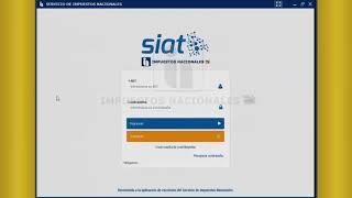 Aplicativo SIAT   DESKTOP CONTRIBUYENTES ESTADOS FINANCIEROS