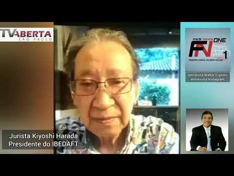Entrevista com Kiyoshi Harada Presidente do IBEDAFT para o jornalista Walter Ciglioni