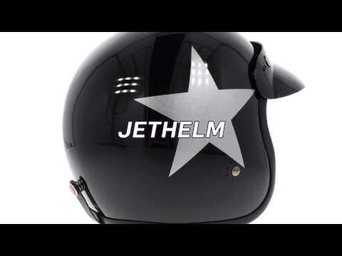Bandit Jet Helm mit ECE (E1) [HD]