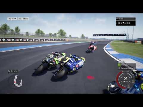 MotoGp 18 VALENTINO ROSSI gameplay [PS4]