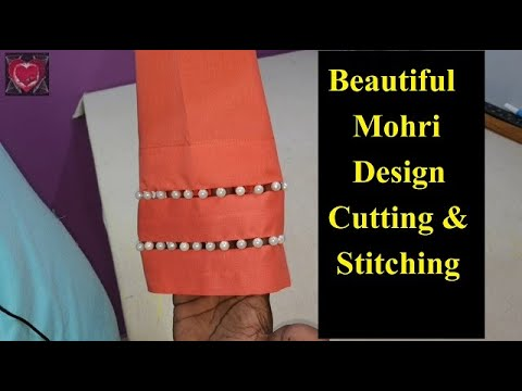 Beautiful Pant Bottom Mohri Design Cutting and Stitching