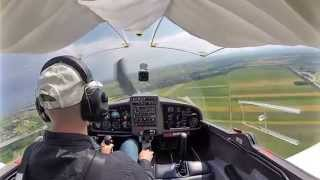 preview picture of video 'First Solo Flight at LOAV Bad Vöslau'