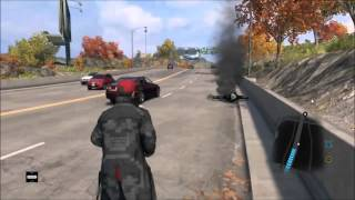 Watch Dogs gameplay - AI being a jerk. - Video Youtube