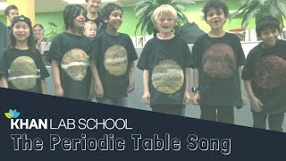 Awesome Kids Sing The Periodic Table Song
