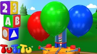 TuTiTu Preschool | Learning Colors for Babies and Toddlers | Balloon Machine