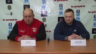 Пресс-конференция матчей МЛК «Горняк» - «Мунайши»