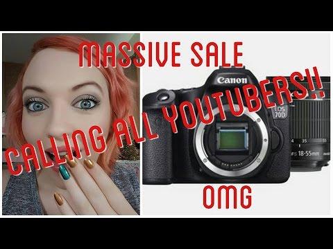 Canon 70d black friday sale + 18-55mm lens Only £699 | IdleGirl