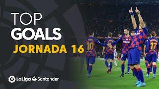 All goals of Matchday 16 LaLiga Santander 2019/2020
