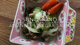 Su-no-mono (Japanese Vinegar salad)