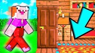 Троллинг ЛОВУШКА для СОСЕДА! Как Достать СОСЕДА в МАЙНКРАФТ | Minecraft Приколы