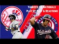 LIVE STREAM - New York Yankees Vs. Washington Nationals - Play By Play