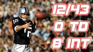 NFL Top 5 Worst QB Duels of All-Time
