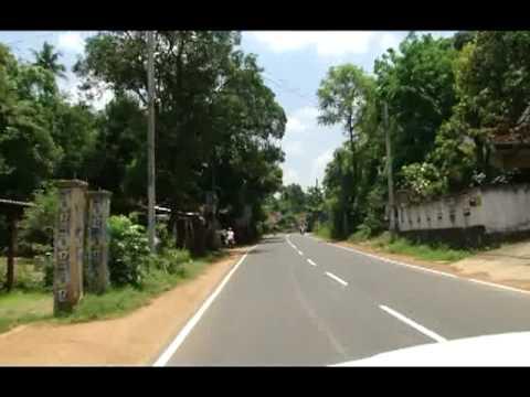 الطريق من كولومبو الى دامبولا  Dambulla