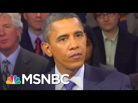Watch President Barack Obama Own Anthony Scaramucci | All In | MSNBC