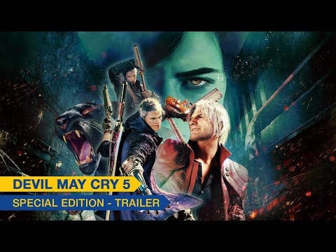 Trailer de la Special Edition de Devil May Cry 5 Special Edition