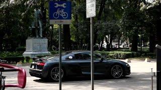 Audi R8 en la Ciudad de México