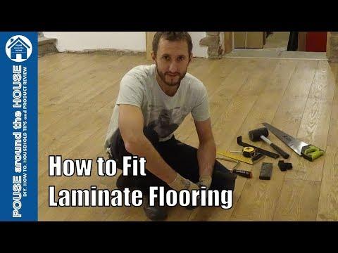 How to install laminate flooring. Laminate floor installation made easy for DIY beginners!